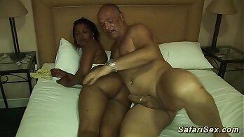 Gorgeous German Babe Rides A Large Black Cock
