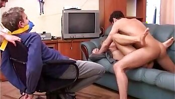 Group sex with his wife