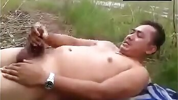 Dad shows me how to fuck before outdoor use