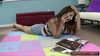 Beautiful small tight teen and brother taboo allys sister Sneaky