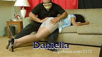 Compilation of me wearing pantyhose video