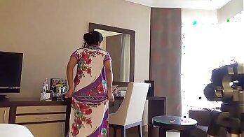 Indian Wife sucks and fucks husbands Border Ruff!