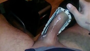 Cum tribute to femboy heels and flats