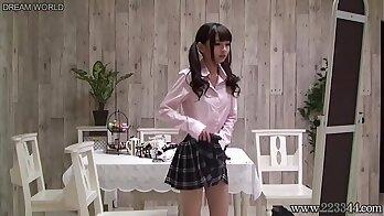 Amazing Japanese schoolgirls basketball uniform