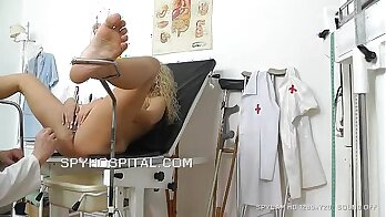 Chocolate doctor Zaltane pussybanging found by spy cam
