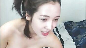 Cute Brunette from Korea Thug