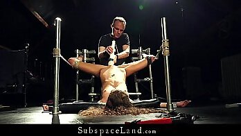 Bondage punch and orgasm This is our most extreme case file to date