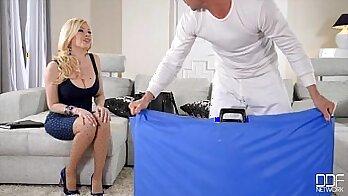 Big-Tits Blond Stepsia Arent Enough Acrobat