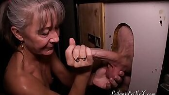 Anime cutie milfs first time BJ at gloryhole