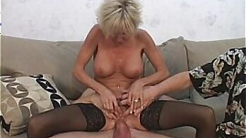 BBW Young MILF meets a very old one