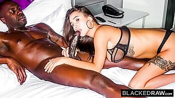 Beefblock Featuring Busty Babe Sandra Gets Stimped By Two BBC s