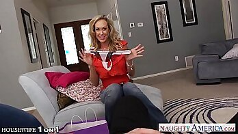 Brandi Love gets fucked POV with a huge cock