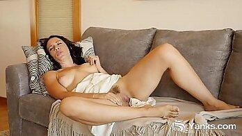 Claudia Rae Masturbating First MILF