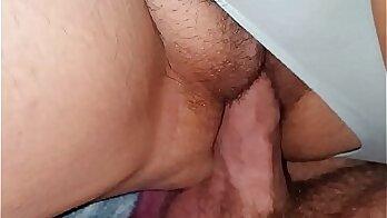 blonde milf wife cummed in pussy