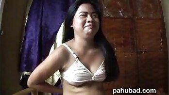 Cute Asian with silicone tits fucks and sucks boyfriend