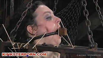 CBT Slave Body Torture In Abbound Bondage