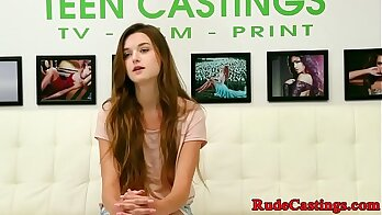 Blair Williams home made whore gets fucked by teen casting agent