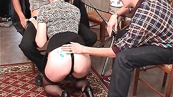 French amateur threesome anal